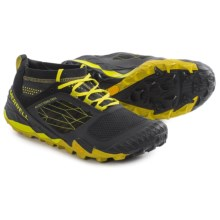 Merrell All Out Terra Trail Shoes (For Men) in Yellow/Black - Closeouts
