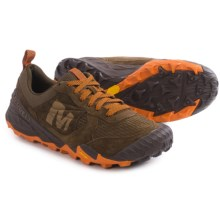 Merrell All Out Terra Turf Lace Shoes (For Men) in Brown - Closeouts