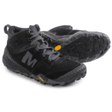 Merrell All Out Terra Turf Mid Ankle Boots (For Men) in Black - Closeouts