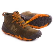 Merrell All Out Terra Turf Mid Ankle Boots (For Men) in Brown - Closeouts