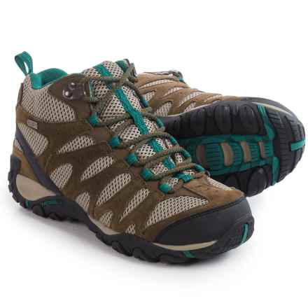 Merrell Altor Mid Hiking Boots - Waterproof (For Women) in Canteen/Dragon Fly - Closeouts