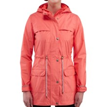 Merrell Alvar Long 2L Rain Coat - Waterproof (For Women) in Nectarine Heather - Closeouts