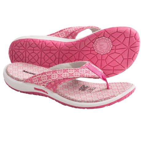 Merrell Amani Ditto Sandals - Flip-Flops (For Girls) in Honeysuckle