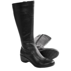 Merrell Angelic Peak Tall Boots - Waterproof Leather (For Women) in Black