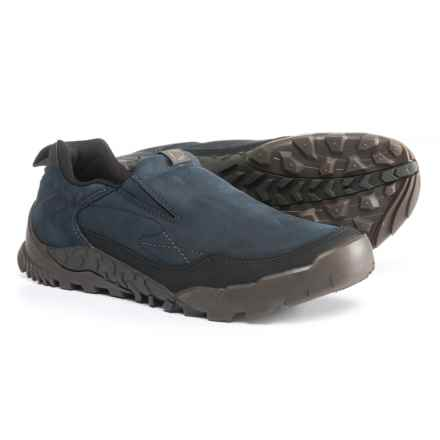 Merrell Annex Trak Moc Shoes - Nubuck, Slip-Ons (For Men) in Sodalite - Closeouts