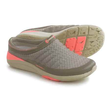 Merrell Applaud Breeze Shoes - Slip-Ons (For Women) in Aluminum - Closeouts