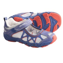 Merrell Aquaterra Sprite Mary Jane Water Shoes (For Girls) in Marlin
