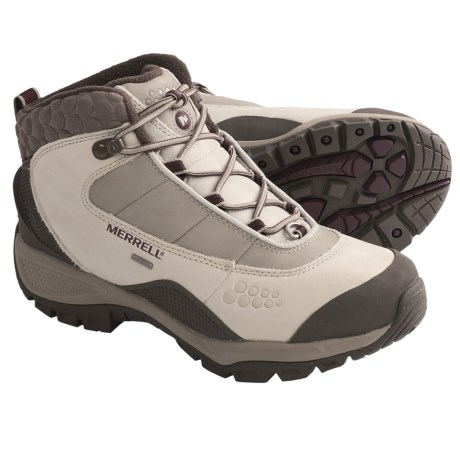 Merrell Arctic Fox 6 Boots - Waterproof, Insulated (For Women) in Silver Birch