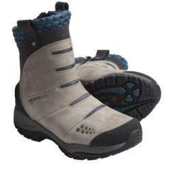 Merrell Arctic Fox Snow Boots - Waterproof, Insulated (For Women) in Smoke