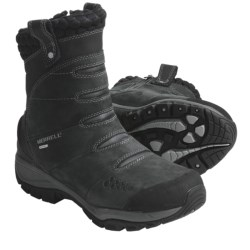 Merrell Arctic Fox Winter Boots - Waterproof, Insulated, Pull Ons (For Women) in Smoke