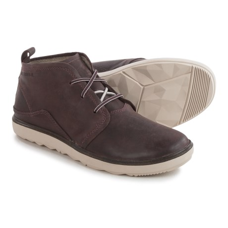 Merrell Around Town Chukka Boots (For Women) in Hucklebuerry