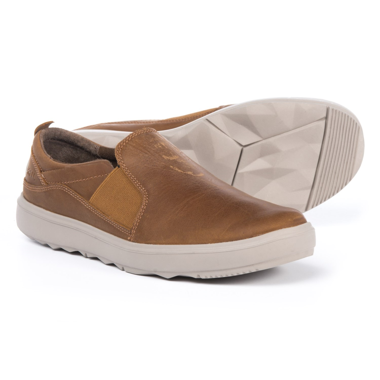 Merrell Around Town Moc Shoes - Slip-Ons (For Women) in Brown Sugar 4f2a5bb67f