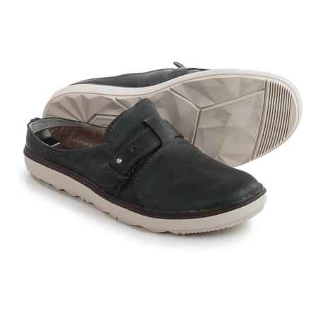 Merrell Around Town Shoes - Leather, Slip-Ons (For Women) in Granite - Closeouts