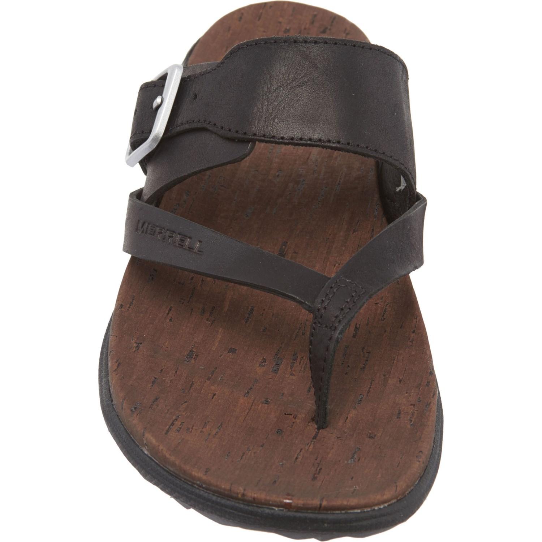 9a5651de715e Merrell Around Town Thong Buckle Sandals (For Women) - Save 37%