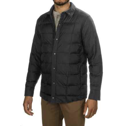 Merrell Aroundabout Featherless Shirt Jacket - Insulated (For Men) in Black - Closeouts