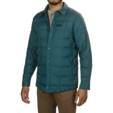 Merrell Aroundabout Featherless Shirt Jacket - Insulated (For Men) in Blue Spruce - Closeouts