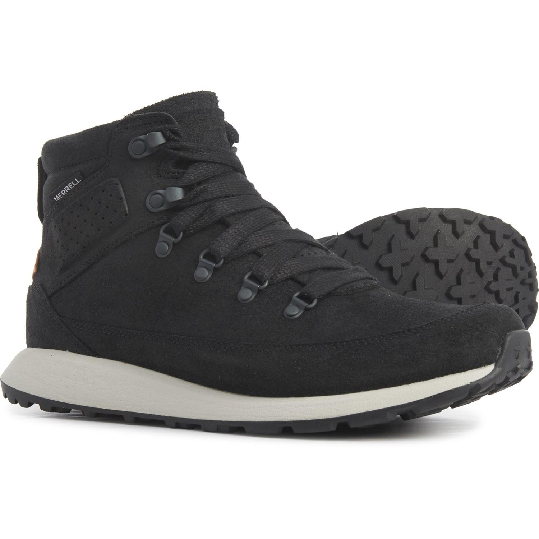 New Merrell Men's Ashford Classic Chukka Leather Shoes