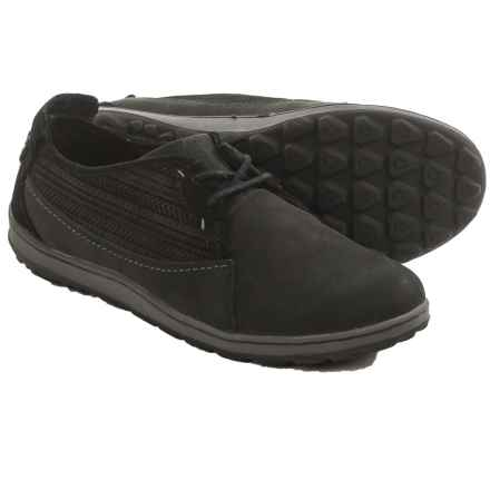 Merrell Ashland Lace Shoes - Leather (For Women) in Black - Closeouts