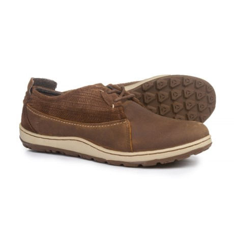 Merrell Ashland Lace Shoes - Leather (For Women) in Brown Sugar