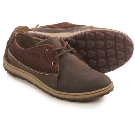 Merrell Ashland Lace Shoes - Leather (For Women) in Coffee Bean - Closeouts
