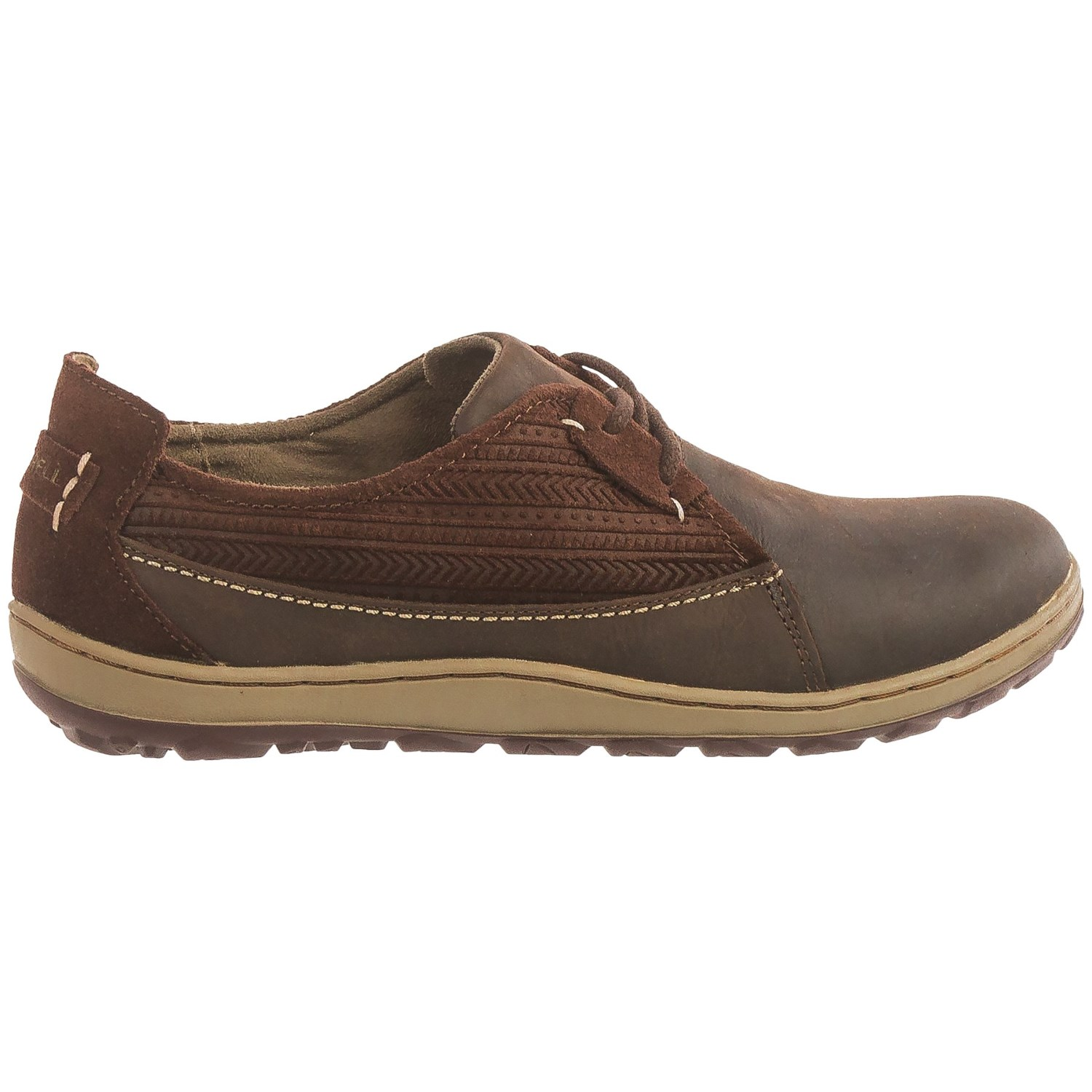 Merrell Ashland Lace Shoes Leather For Women