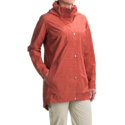 Merrell Atlas Bounce Long 2L Jacket - Waterproof (For Women) in Marsala - Closeouts