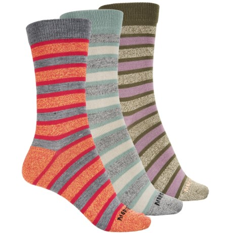 Merrell Azala Hiker Socks - Crew, 3-Pack (For Women) in Azala