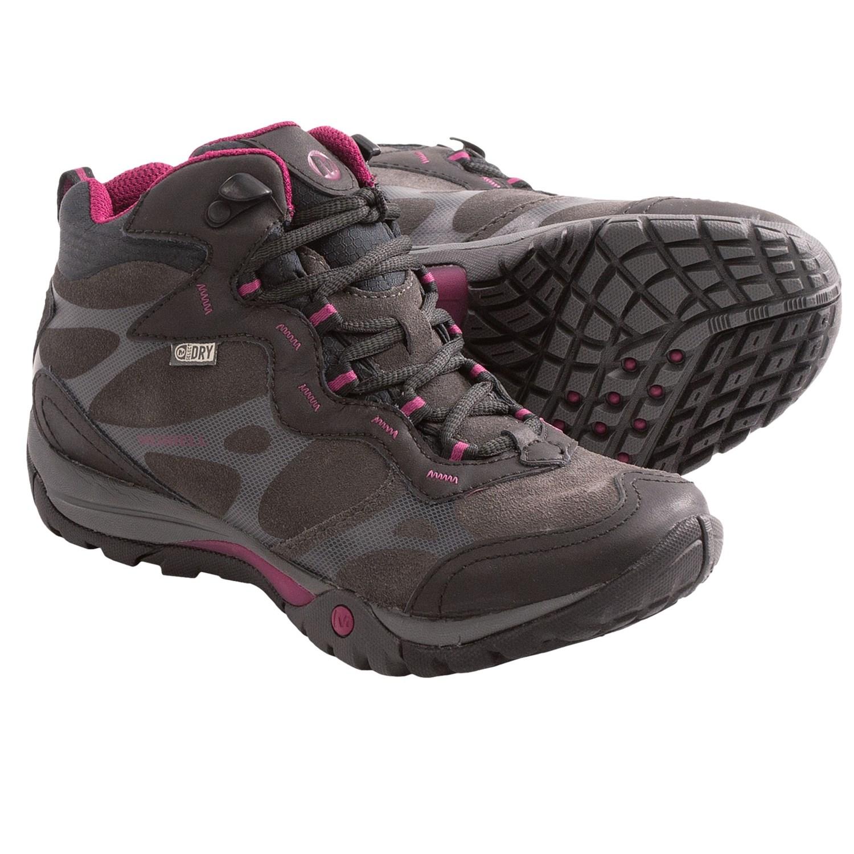 Womens Wide Waterproof Hiking Boots 69
