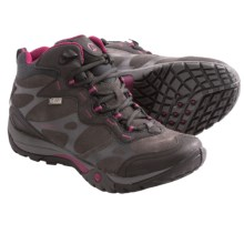 Merrell Azura Carex Mid Hiking Boots - Waterproof (For Women) in Black - Closeouts
