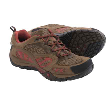Merrell Azura Hiking Shoes - Waterproof (For Women) in Dark Earth/Red - Closeouts
