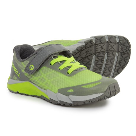 Merrell Bare Access A/C Shoes (For Boys) in Grey/Citron