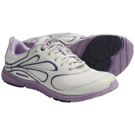 Merrell Bare Access Arc Barefoot Running Shoes - Minimalist (For Women) in Ash/Orchid