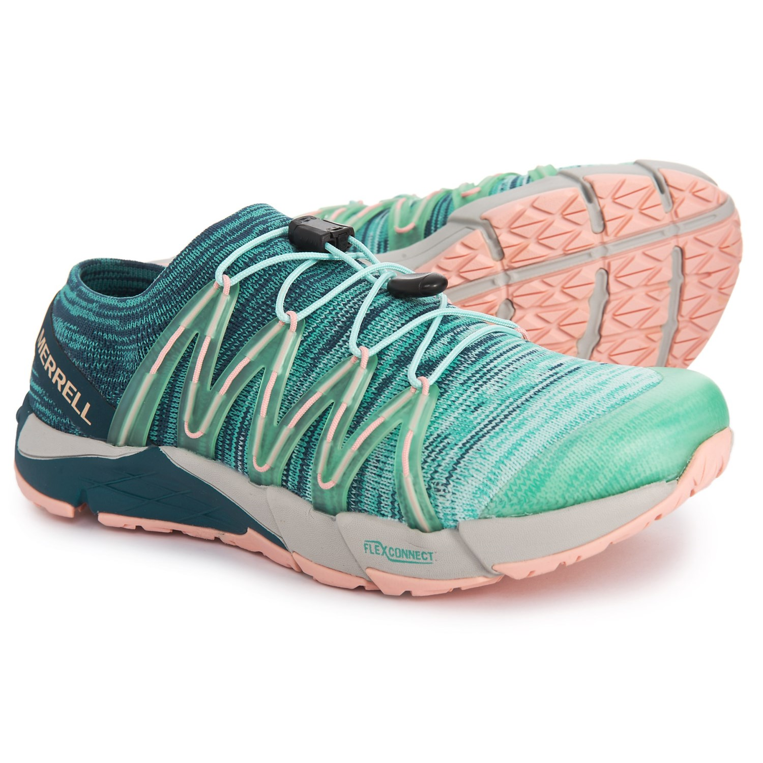 de89a55292f Merrell Bare Access Flex Knit Trail Running Shoes (For Women) - Save 46%