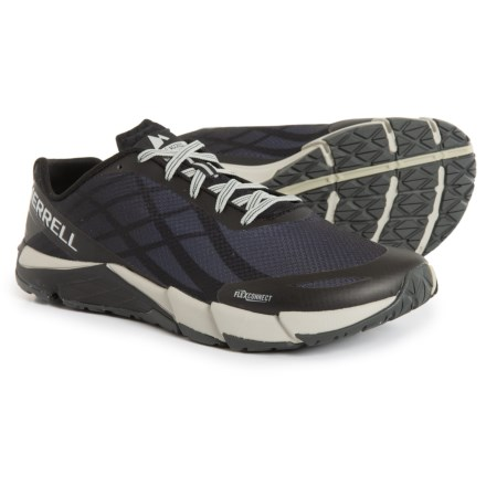 53bcdc1e560ae Merrell Bare Access Flex Trail Running Shoes (For Men) in Black Silver -