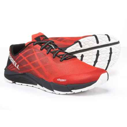 Merrell Bare Access Flex Trail Running Shoes (For Men) in High Risk Red - Closeouts
