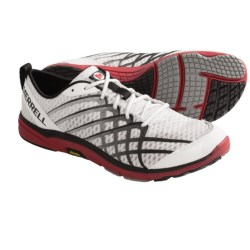 Merrell Barefoot Bare Access 2 Running Shoes - Minimalist (For Men) in White/Crimson
