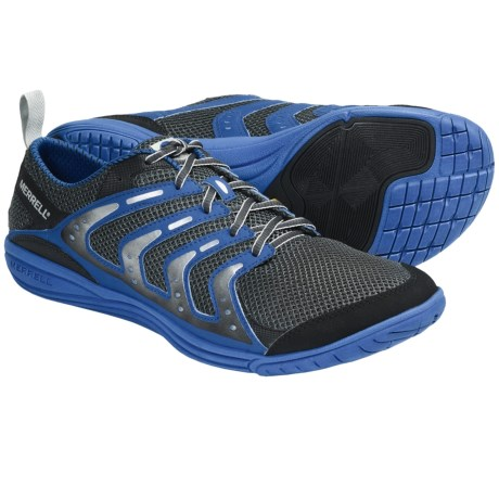 Merrell Barefoot Bare Access Running Shoes - Minimalist (For Men) in Parrot