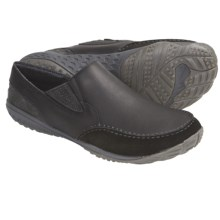 Merrell Barefoot Life Radius Glove Shoes - Minimalist, Leather, Slip-Ons (For Men) in Black - Closeouts