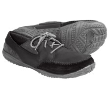 Merrell Barefoot Life Reach Glove Shoes - Leather, Minimalist (For Men) in Black - Closeouts
