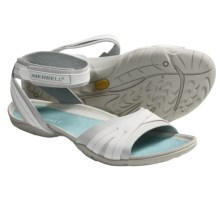 Merrell Barefoot Life Spirit Wrap Sandals (For Women) in White - Closeouts