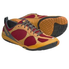 Merrell Barefoot Road Glove Running Shoes - Minimalist (For Men) in Scarlet/Orange - Closeouts