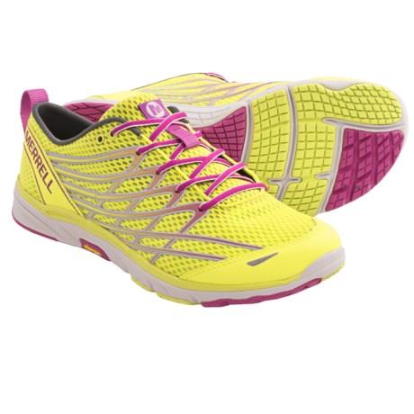 Merrell Barefoot Run Bare Access Arc 3 Running Shoes - Minimalist (For Women) in High Viz/Purple