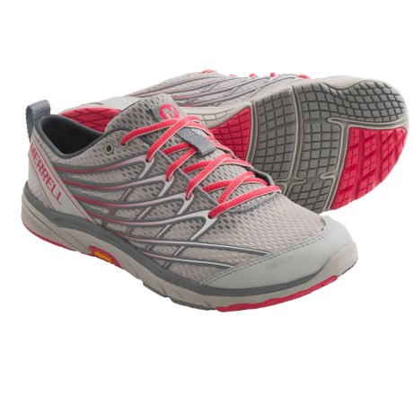 Merrell Barefoot Run Bare Access Arc 3 Running Shoes - Minimalist (For Women) in High Viz/Purple