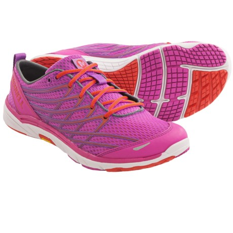 Merrell Barefoot Run Bare Access Arc 3 Running Shoes - Minimalist (For Women) in Ice/Paradise Pink