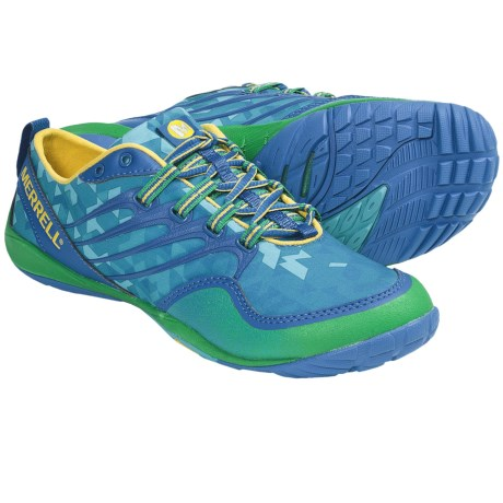 Merrell Barefoot Trail Lithe Glove Running Shoes - Minimalist (For Women) in Apollo