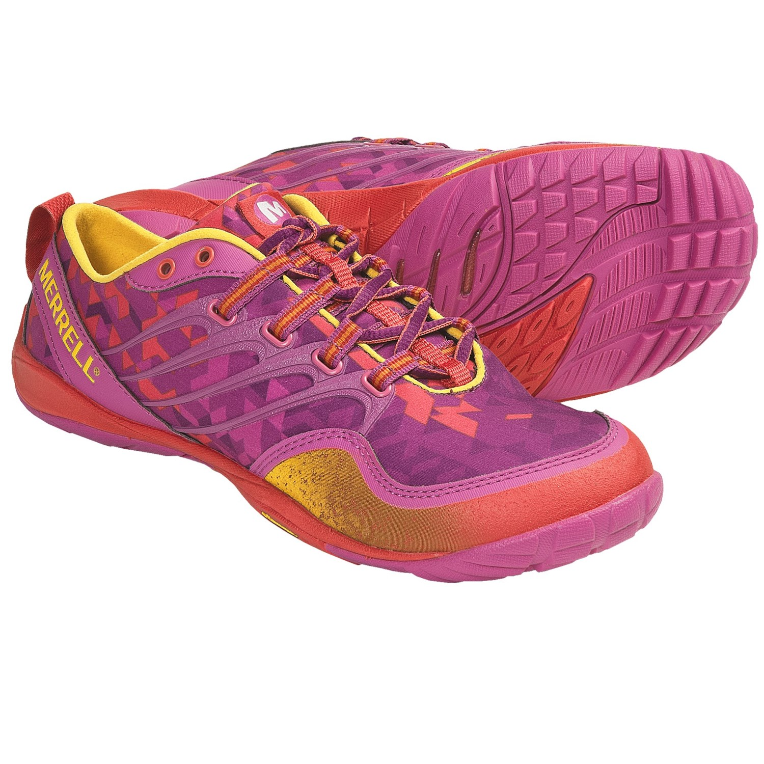 Merrell Barefoot Trail Lithe Glove Running Shoes - Minimalist (For