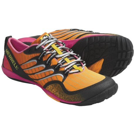Merrell Barefoot Trail Lithe Glove Running Shoes - Minimalist (For Women) in Cosmo Pink