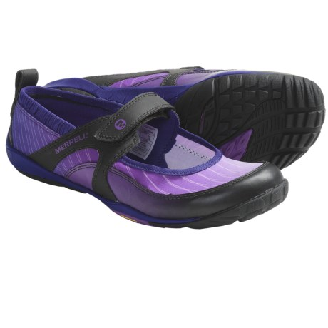 Merrell Barefoot Train Lithe MJ Glove Shoes - Minimalist (For Women) in Cosmo Purple