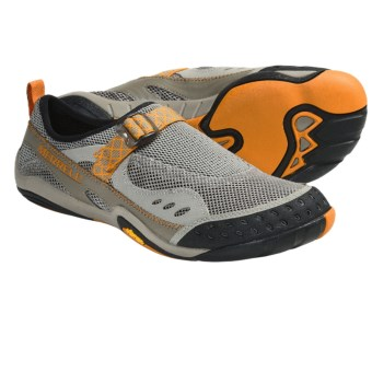 Merrell Barefoot Water Rapid Glove Water Shoes (For Men) in Aluminum
