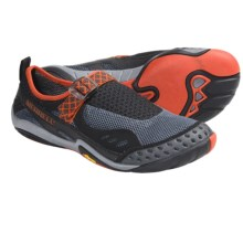 Merrell Barefoot Water Rapid Glove Water Shoes (For Men) in Black/Granite - Closeouts